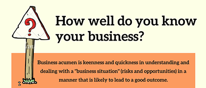How well do you know your business?