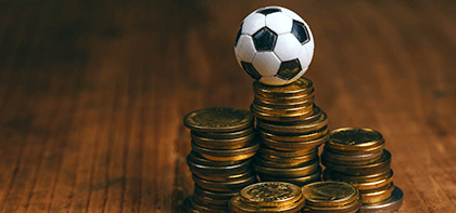 "Binod talks about ""Football Finance"" on Gulf Business"