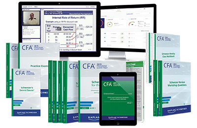 Level I CFA PremiumPlus Study Package