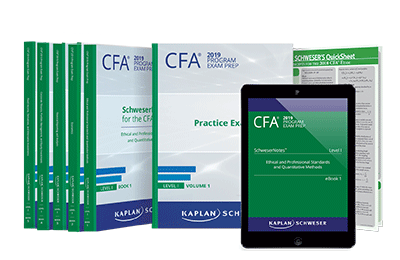 Level I CFA SchweserNotes Package