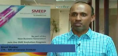 Binod Shankar's interview on SME Finances
