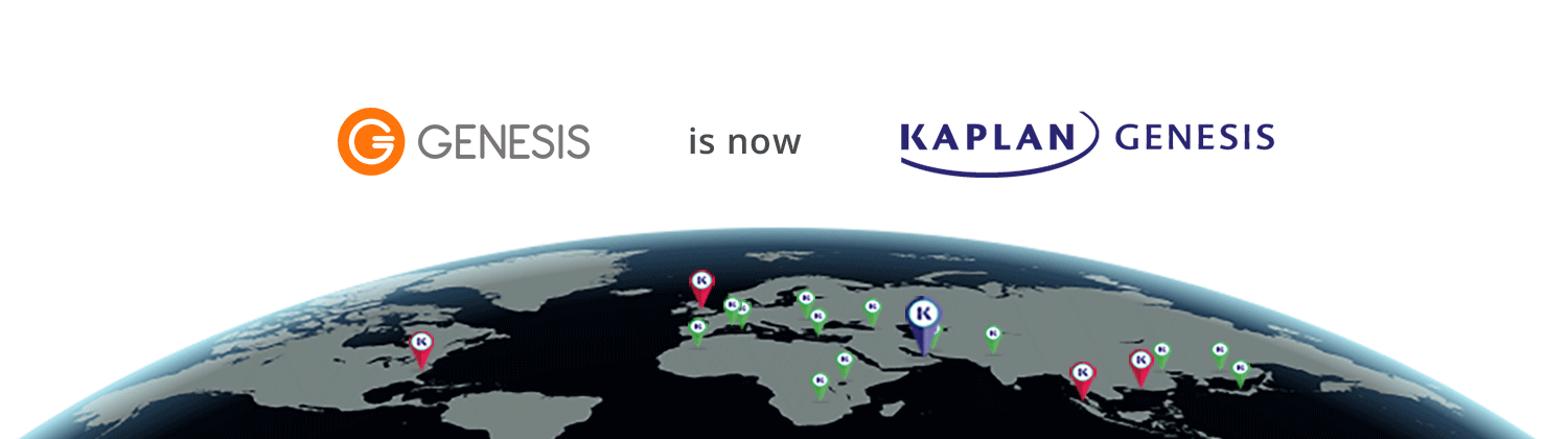 Genesis Institute is now Kaplan Genesis